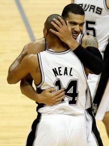 Gary Neal mencetak poin tertinggi, 24 di game ketiga